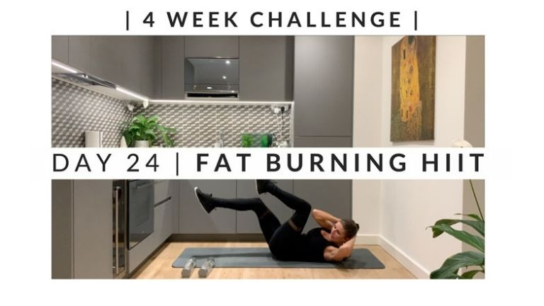 Home Workout Challenge for body and mind day 24 MAIN