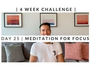 Home Workout Challenge for body and mind day 25 FEATURED