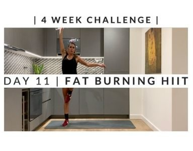 Home Workout Challenge for body and mind day eleven FEATURED