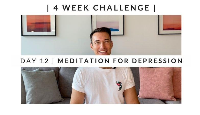 Home Workout Challenge for body & mind: meditation for depression – week two, day twelve