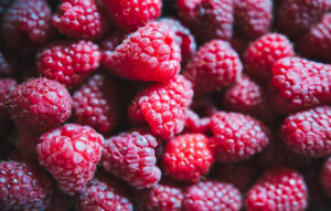 foods for a healthy gut microbiome raspberry