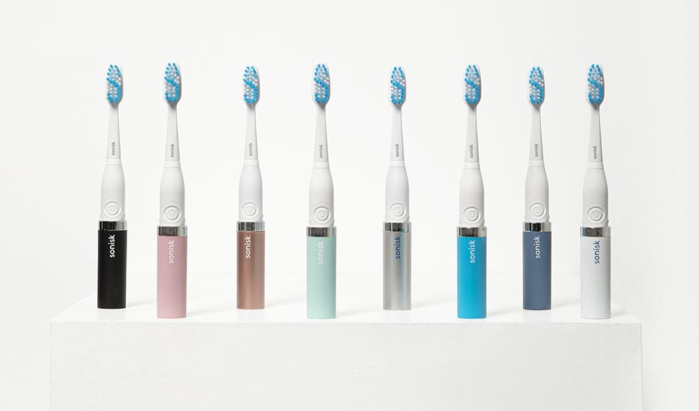 sonisk toothbrush travel bad essentials new