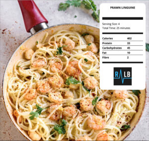 5 easy dinner ideas for people who hate cooking prawn linguine