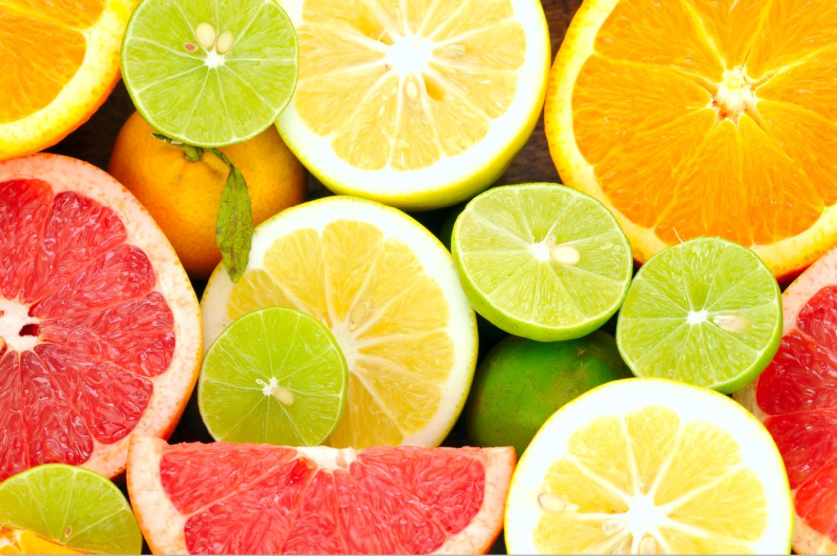5 foods proven to reduce stress and anxiety vitamin c citrus fruits